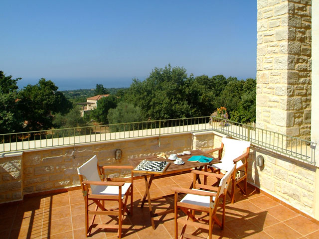 Villa Aloe - Balcony View